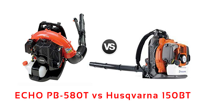 ECHO PB-580T vs Husqvarna 150BT