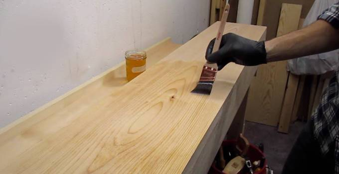 Finish for Plywood Workbench Top