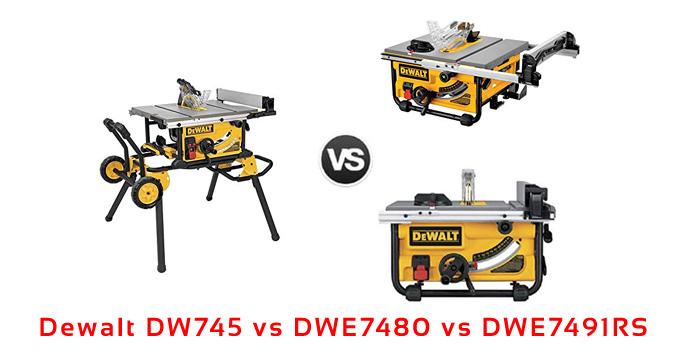 dw745 vs dwe7480 vs dwe7491rs