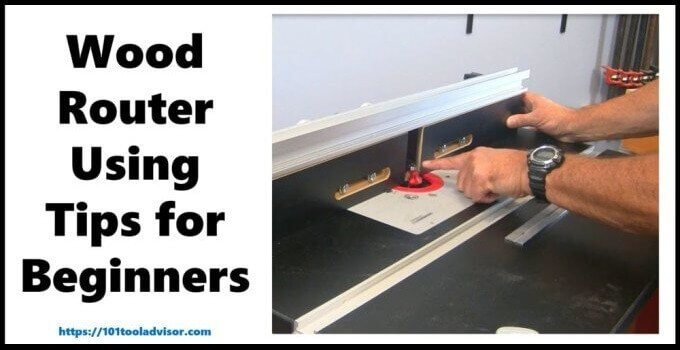 How do you use a wood router table for beginners