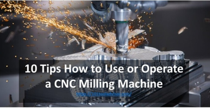 How to Use or Operate a CNC Milling Machine