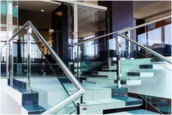 Aluminum Framed Handrail