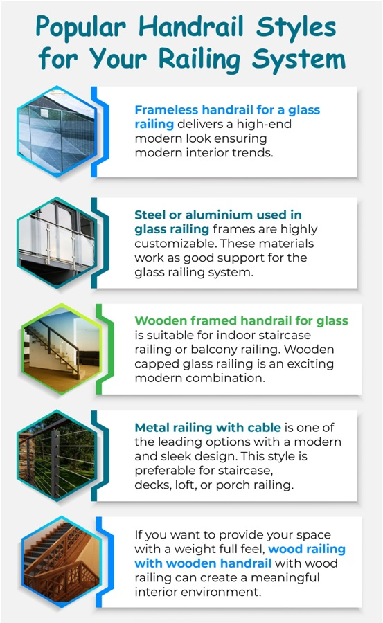 Popular Handrail Styles to Finish Your Railing System